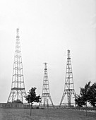 US Naval Observatory time signalling antennas