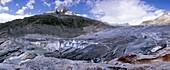 Formation of Rhone glacier lake, 2007