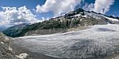 Rhone glacier tongue, Switzerland, 2004