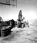 US radar station, Mount Suribachi, Iwo Jima, Japan