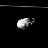 Saturn's moon Prometheus, Cassini image