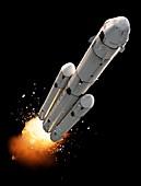 Dragon SpaceX Mars spacecraft, illustration