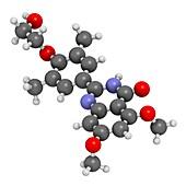 Apabetalone atherosclerosis drug molecule