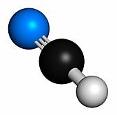 Hydrogen cyanide poison molecule