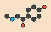 Synephrine herbal stimulant molecule