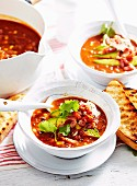 Hearty Chilli Corn and Bacon Soup