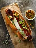 Kimchi-Hotdog (Korea)
