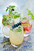For refreshing cocktails with fruits and herbs