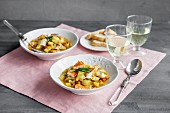Fish stew with fennel and tomatoes