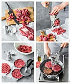 How to make beef patties