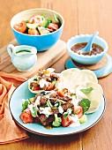 Tandoori Beef Salad