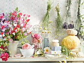 Scented plants, scented oils, and fragranced soaps