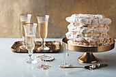Baiserkuchen mit Tiramisu-Füllung