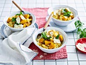 Roasted Pumpkin risotto