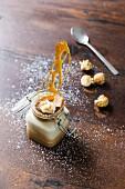 Creme Brulee mit Salted Karamell im Weckglas