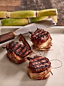Tournedos with sugar cane