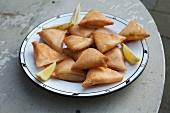 Stuffed brik pastries (Tunisia)