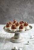 Maronen-Cupcakes zu Weihnachten