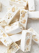 Torrone with almonds
