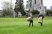 Volunteer park cleaning, USA