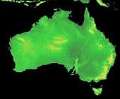 Australia, GLOBE map