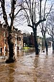 Flooding, Cumbria, UK