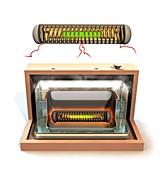 Cold fusion reactor, illustration