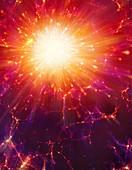 Artwork of the Big Bang