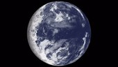 TRAPPIST-1e exoplanet, animation