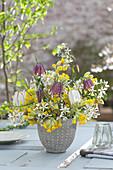 Frühlingsstrauß aus Primula veris ( Schlüsselblumen, Himmelsschlüssel