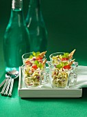 Pickled orzo salad appetizers