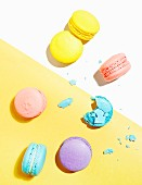 Colorful French Macaron