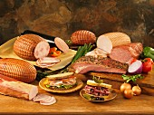Cooked deli meats