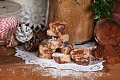 Glutenfreie Marmorplätzchen