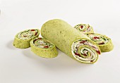 Spinach turkey wrap