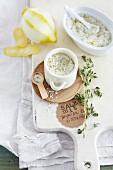 Lemon and thyme salt