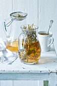 Herb Infused Tea in Pitcher