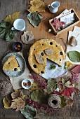 Autumnal poppy seed tart
