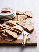 Cheesy Ham Quesadillas