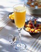 Mimosa (a champagne cocktail)