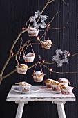 Panettone-Muffins zu Weihnachten
