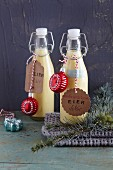 Homemade egg liqueur (Christmas)