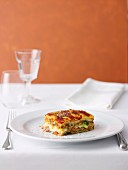 Italian Sausage and Three-Cheese Lasagne