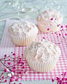 Cupcakes with buttercream and sugar
