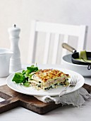 Salmon and Zucchini Lasagne