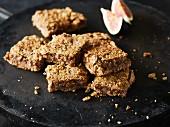Vegane Feigen-Walnuss-Kekse