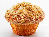 Muffins with a crumble topping
