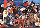Hua Tuo, ancient Chinese physician, illustration