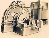 Tesla turbo pump, 1910s