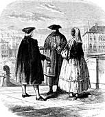 18th Century Venetians, illustration